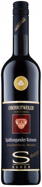 2018er Oberrotweiler Henkenberg Spätburgunder RotweinTrocken Qba Selektion