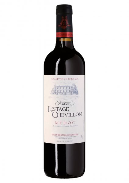 2014er Château Lestage-Chevillon - Medoc AOC - Weingut Frederic Cruchon Gaillan - Bordeaux