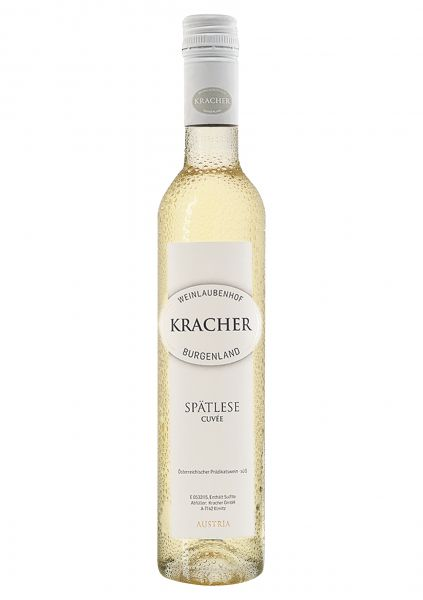 2017er Spätlese Cuvée Pinot Blanc + Chardonnay + Welschriesling 0,375 Fl Prädikatswein - süß