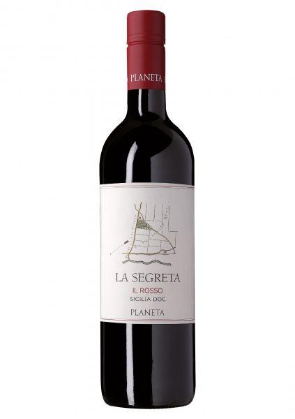 2017er La Segreta Il Rosso DOC Planeta - Sicilia