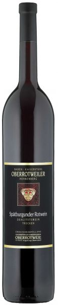 2019er Oberrotweiler Spätbugunder Rotwein Trocken Magnumflasche 1,5 L