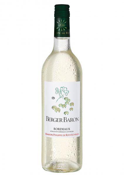 2017er Berger Baron Blanc Bordeaux AOC