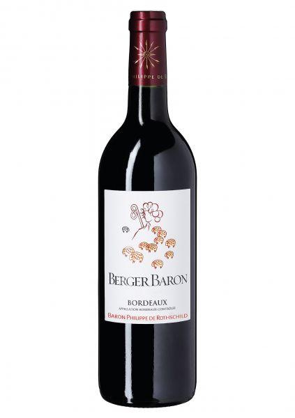 2017er Berger Baron Rouge Bordeaux für jeden Tag