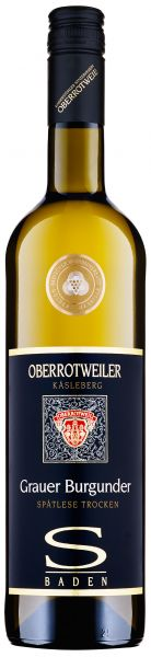 2018er Oberrotweiler Grauer Burgunder Spätlese Trocken Selection