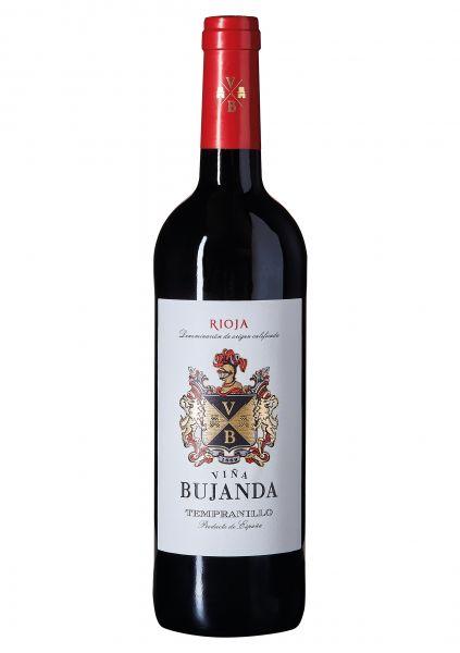 2018er Vina Bujanda Tempranillo - Rioja - Spanien