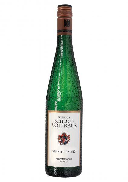 2019er Winkel Riesling VDP Kabinett Ortswein feinherb - Weingut Schloss Vollrads - Rheingau