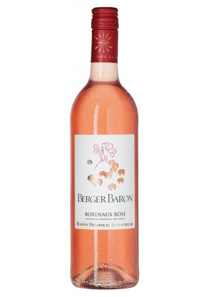 2017er Berger Baron Rose AOC Bordeaux