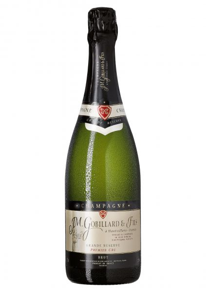 Grande Réserve Premier Cru Brut - Champagne J. M. Gobillard