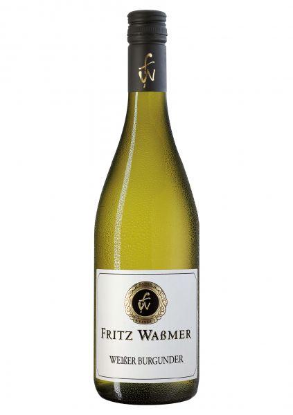 2018er Weißer Burgunder Qba. Trocken Weingut Fritz Waßmer -Breisgau