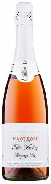 2017er Oberrotweiler Magnumflasche Käsleberg Pinot Rose Sekt 1,5 L