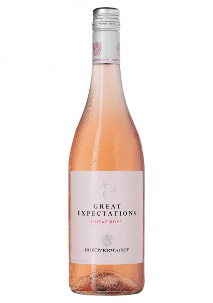 2019er Great Expectations Shiraz Rosé - Goedverwacht - Südafrika