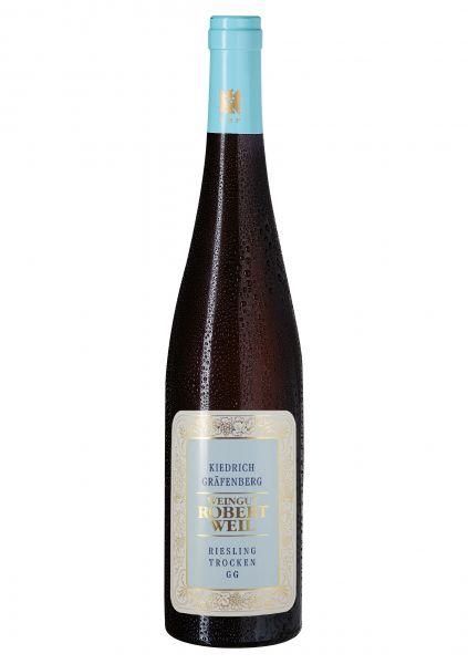 2018er Kiedrich Gräfenberg Riesling Qba trocken - Großes Gewächs - Weingut Robert Weil