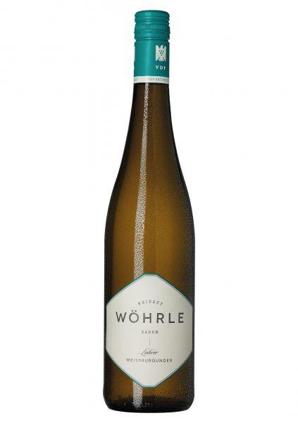 2018er Lahrer Weissburgunder Ortswein Trocken Weingut Wöhrle - Lahr