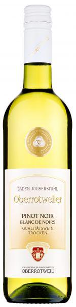 2020er Oberrotweiler Pinot Noir Blanc de Noirs Qba. Trocken