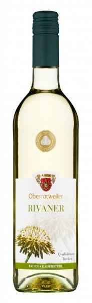 2020er Oberrotweiler Rivaner Qba trocken 0,75