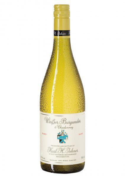 2019er Weißer Burgunder & Chardonnay Qba Trocken - Barrique - Weingut Karl H.Johner