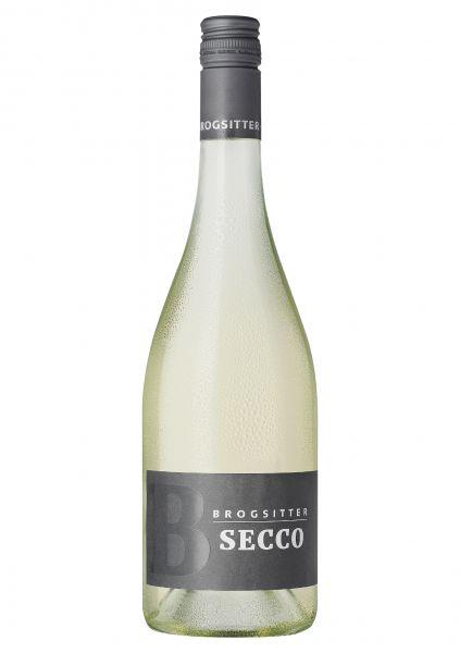 Brogsitter Secco trocken - Perlwein weiß 0,75