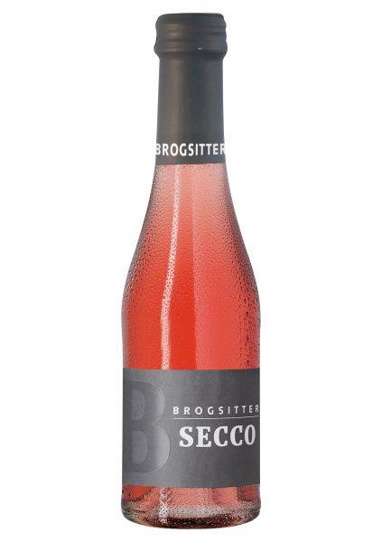 Brogsitter Secco trocken - rosé Perlwein Piccolo 0,2