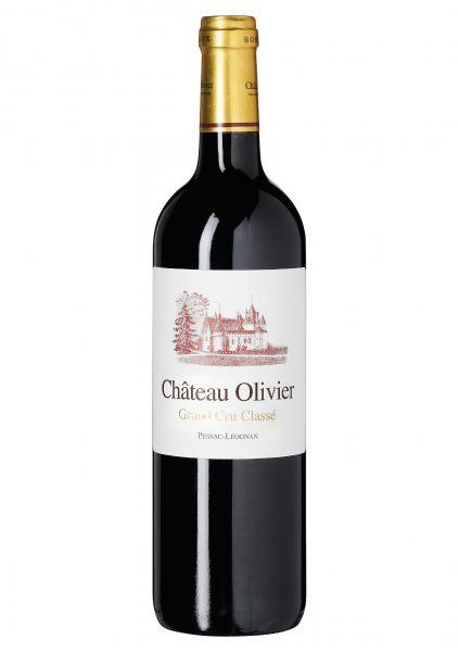 2014er Château Olivier Grand Cru Classé - Pessac Léognan AOC - Jean-Jacques de Bethmann