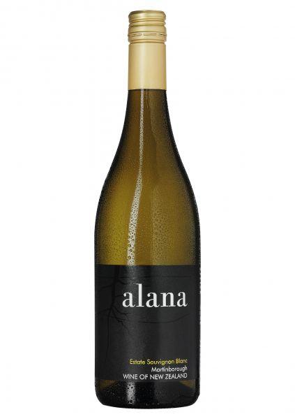 2018er Estate Sauvignon Blanc - Alana Estate- Martinborough - Neuseeland