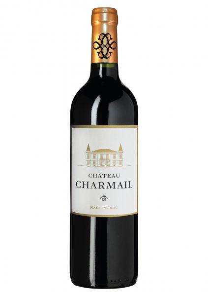 2012er Château Charmail - Cru Bourgeois - Haut Medoc AOC- Bordeaux