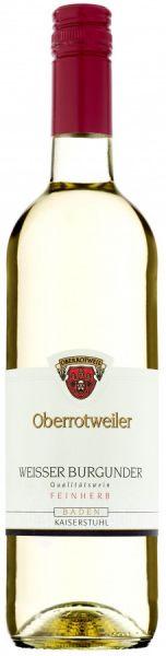 2020er Oberrotweiler Weißer Burgunder Qba feinherb 0,75
